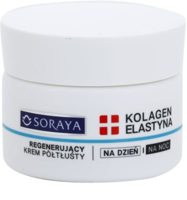 Soraya Collagen & Elastin creme regenerador para o rosto com vitaminas
