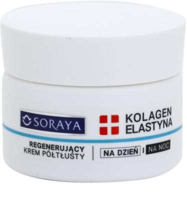 Soraya Collagen & Elastin регенериращ крем за лие с витамини