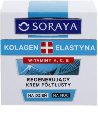 Soraya Collagen & Elastin regenerujący krem do twarzy z witaminami 2