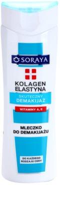 Soraya Collagen & Elastin leche desmaquillante con vitaminas A y E