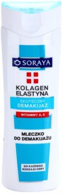Soraya Collagen & Elastin mleczko oczyszczające z witaminą A i E