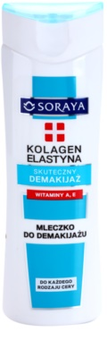 Soraya Collagen & Elastin odličovací mléko s vitamínem A a E