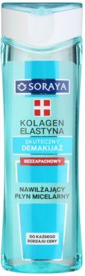Soraya Collagen & Elastin agua micelar hidratante sin perfume