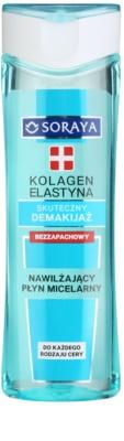 Soraya Collagen & Elastin хидратираща мицеларна вода без парфюм