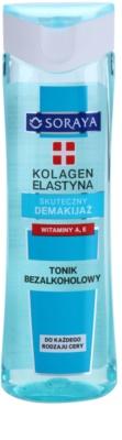 Soraya Collagen & Elastin tonic pentru curatare cu vitamina A si E