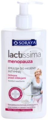 Soraya Lactissima емульсія для інтимної гігієни жінок в період менопаузи