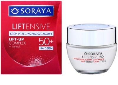 Soraya Liftensive Tagescreme gegen Falten 50+ 1