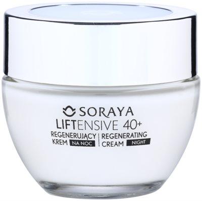 Soraya Liftensive crema regeneratoare de noapte anti-rid 40+