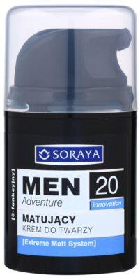 Soraya MEN Adventure 20+ zmatňujúci krém s hydratačným účinkom pre mužov