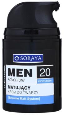 Soraya MEN Adventure 20+ zmatňujúci krém s hydratačným účinkom pre mužov 1