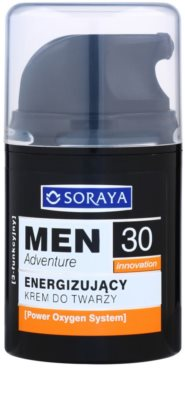 Soraya MEN Adventure 30+ creme energizante para homens