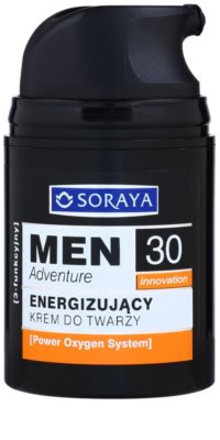 Soraya MEN Adventure 30+ energizáló krém uraknak 1