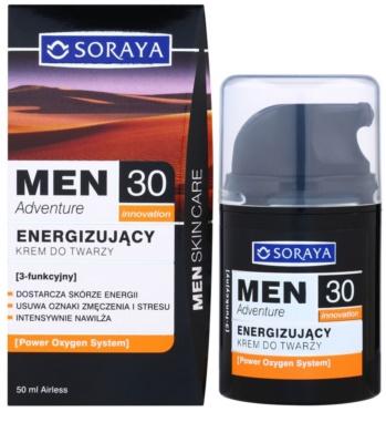 Soraya MEN Adventure 30+ energizáló krém uraknak 2