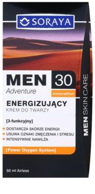 Soraya MEN Adventure 30+ krem energizujący dla mężczyzn 3