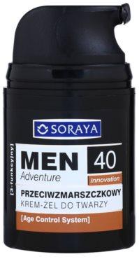 Soraya MEN Adventure 40+ przeciwzmarszczkowy żel-krem dla mężczyzn 1