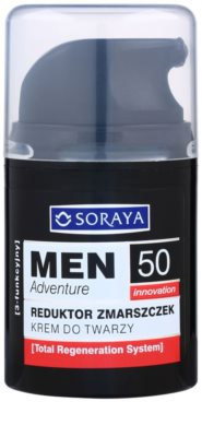 Soraya MEN Adventure 50+ Anti-Faltencreme für Herren