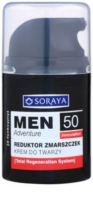 Soraya MEN Adventure 50+ crema anti-rid pentru barbati