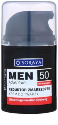 Soraya MEN Adventure 50+ creme antirrugas para homens