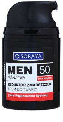 Soraya MEN Adventure 50+ Anti-Faltencreme für Herren 1