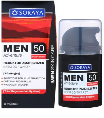 Soraya MEN Adventure 50+ Anti-Faltencreme für Herren 2