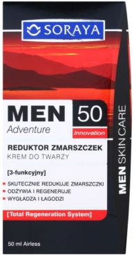 Soraya MEN Adventure 50+ Anti-Faltencreme für Herren 3