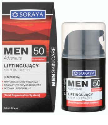 Soraya MEN Adventure 50+ Liftingcrem für Herren 1
