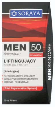 Soraya MEN Adventure 50+ Liftingcrem für Herren 2