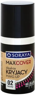 Soraya Max Cover fedő make-up SPF 6