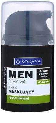 Soraya MEN Adventure krém proti nedokonalostiam a začervenaniu pleti pre mužov