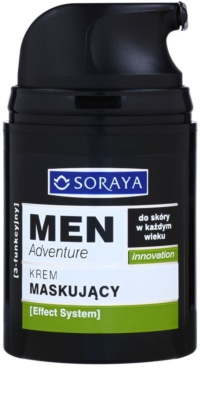 Soraya MEN Adventure crema anti-imperfecciones y anti-rojeces para hombre 1