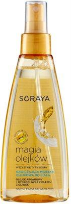 Soraya Magic Oils Body Mist cu efect de hidratare