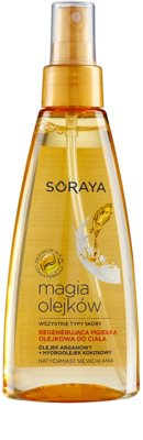 Soraya Magic Oils mgiełka do ciała o działaniu regenerującym