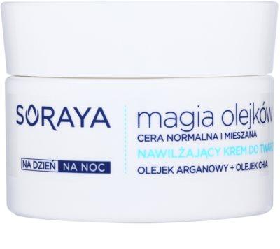 Soraya Magic Oils Feuchtigkeitscreme für normale Haut und Mischhaut