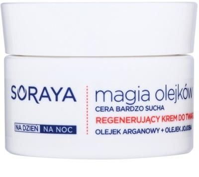 Soraya Magic Oils creme regenerador   para pele muito seca