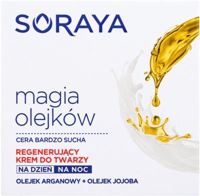 Soraya Magic Oils creme regenerador   para pele muito seca 2