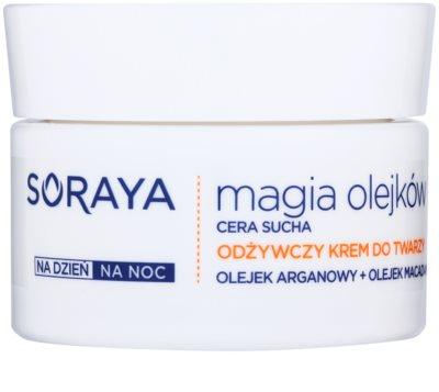 Soraya Magic Oils tápláló krém száraz bőrre