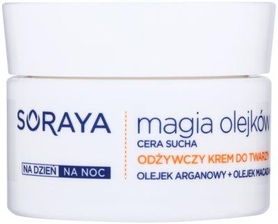Soraya Magic Oils подхранващ крем за суха кожа