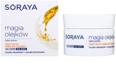 Soraya Magic Oils crema hranitoare ten uscat 1