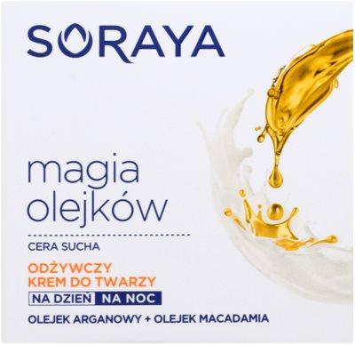 Soraya Magic Oils подхранващ крем за суха кожа 2