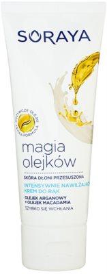Soraya Magic Oils crema de maini pentru hidratare intensa