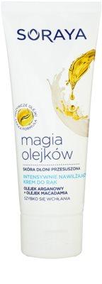 Soraya Magic Oils krem do rąk intensywnie nawilżający