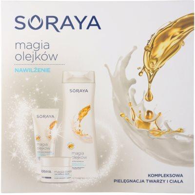 Soraya Magic Oils zestaw kosmetyków VI.