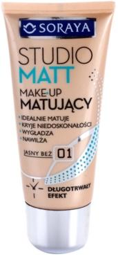 Soraya Studio Matt mattító make-up E-vitaminnal
