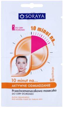 Soraya 10 Minutes fiatalító maszk érett bőrre