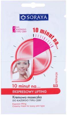 Soraya 10 Minutes expresná liftingová maska pre všetky typy pleti