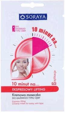 Soraya 10 Minutes швидка ліфтингова маска для всіх типів шкіри