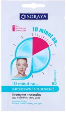 Soraya 10 Minutes intensive Maske zur Festigung der Haut
