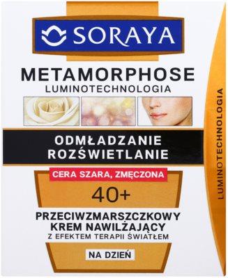 Soraya Methamorphose Luminotechnology omlazující a rozjasňující denní krém pro unavenou pleť 2