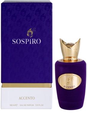 Sospiro Accento eau de parfum para mujer