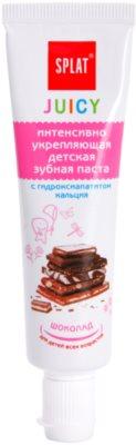 Splat Juicy Chocolate pasta dentífrica para niños y adultos con dientes muy sensibles